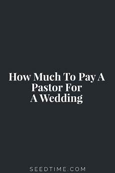 how much should you pay for a wedding ring how much to pay a pastor for a wedding