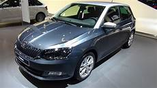 skoda fabia rs 2018 2018 skoda fabia ultimate clever 1 0 tsi 95 exterior and