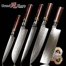 Amazon Com 10sets Of 5pcs Damascus Knife Set 5 Pcs Japanese Vg10 Steel Damascus