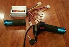 48 volt 1000 watt speed controller and digital throttle for brushed motors ebay