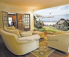 lighthouse cove wall mural c823