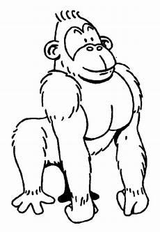 Ausmalbilder Zum Drucken Affe Ausmalbilder Affe Malvorlagen Ausdrucken 1