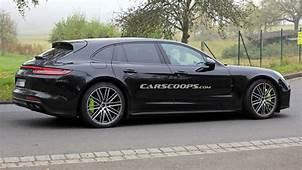 2021 Porsche Panamera Sport Turismo Spied Too Has A 992