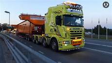 2x Scania R730 V8 In Heavy Haulage