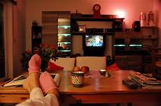 feierabend mein wohnzimmer und ich foto bild