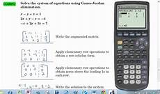 reduced echelon form calculator 6 1 reduced row echelon form calculator tutorial solving systems of equations youtube