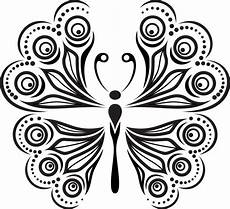 ladari vintage butterfly abstract decor eps free vector