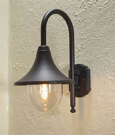 matt black hanging exterior lantern