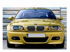 bmw e46 front bumper sport look coupe convertible fog