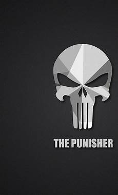 the punisher iphone wallpaper the punisher material logo hd 2k wallpaper