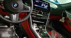 bmw 8 series convertible leaks its interior on social