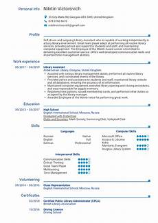 resume exles by real library assistant resume