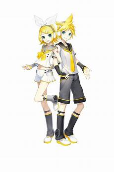 kagamine rin and len v4x design they look absolutely