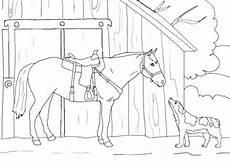 Ausmalbilder Pferde Und Hunde Ausmalbilder Pferde Und Hunde Thema Bauernhoftiere