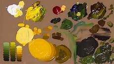 how to mix colors with oil paint youtube