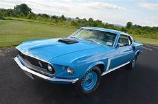1969 ford mustang gt fastback light weight muscle classic old original blue usa