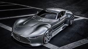 Wallpaper Mercedes Benz AMG Vision Supercar Gran Turismo