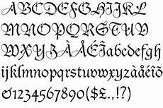 alfabeto gotico lettere blackletter font bastarda schwabacher