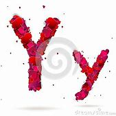 Letter Y Made F...