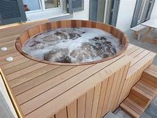 construire un spa spa bois haut de gamme et fabriqu 233 en o biozz