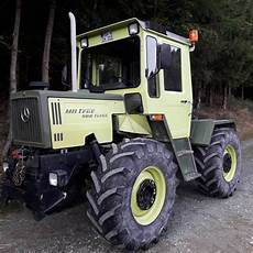 Mercedes Mb Trac 900 Turbo Wheel Tractor From Germany