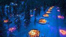 Iglu Hotel Finnland - glass igloo hotel in finland