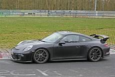 Porsche Gt3 2017 2017 porsche 911 gt3 spied on nurburgring to get 911 r 6