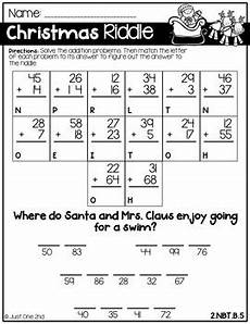 riddles worksheets for grade 2 10872 no prep math worksheets for 2nd grade by just one 2nd tpt