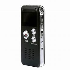16gb Usb Rechargeable Digital Sound Voice Recorder Mp3