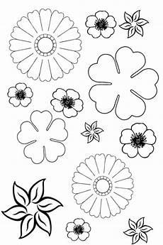 Malvorlagen Blumen Malvorlagen Blumen