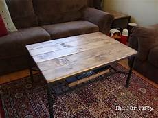 Table Hack by The Far Fifty Coffee Table Ikea Hack