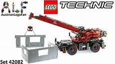 Lego Technic Build by Lego Technic 42082 Terrain Crane Speed Build
