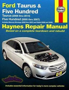 all car manuals free 2007 ford five hundred windshield wipe control shop manual ford service repair 500 haynes five hundred book chilton ebay
