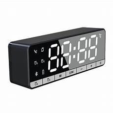 Bakeey Speaker Display Sound Lifier Audio by Bakeey Wireless Bluetooth Speaker Alarm Clock Lcd Display