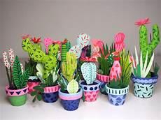 handmade paper cacti by sielbeck fubiz media
