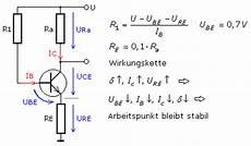 emitterschaltung transistorverst 228 rker