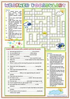 weather worksheets esl adults 14493 weather vocabulary worksheet free esl printable worksheets made by teachers