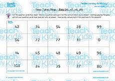 times tables bingo easy x6 x7 x8 x9 teach my kids