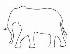 elefant basteln vorlage pin by muse printables on printable patterns at