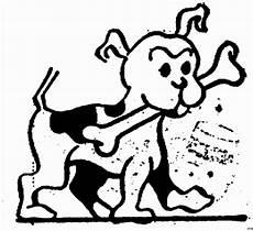 Malvorlage Hund Mit Knochen Gepunkteter Hund Mit Knochen Ausmalbild Malvorlage Hund
