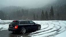 low rider audi s4 4 2 v8 snow donut youtube