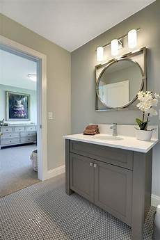 image result for dark grey light grey tile bathroom