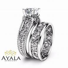 cushion diamond wedding ring unique 14k white gold engagement rings ebay