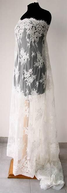 White Wedding Gown Fabric white bridal lace fabric wedding dress veil gown tulle