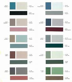 exterior paint color chart nelson acrylic latex outside