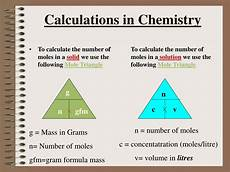ppt calculations in chemistry powerpoint presentation