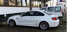 bmw m2 shows off its white clothes