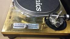 sl 1200 mk2 gold limited technics sl 1200 mk2 gold