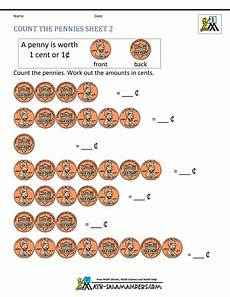 learning to count money worksheets printable 2724 free math money worksheets 1st grade