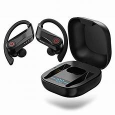 Onikuma Plus Bluetooth Digital Display Earphone by Wireless Earbuds Onikuma Sports Bluetooth 5 0 Headphones